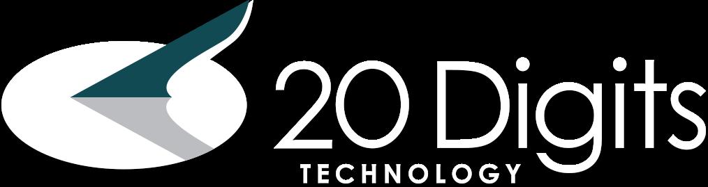 20 digits logo